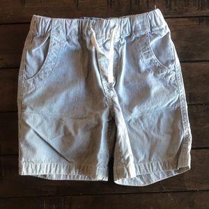 Gap Kids 4T Blue & White Striped Shorts